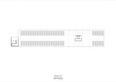 parkovaci dom_podorys 1np